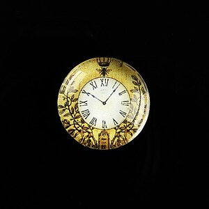 "Cabochon sticla 20mm ""Boy's Clock"" cod 493"