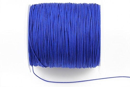 Snur Shamballa grosime 0,6mm, rola de 100m - albastru cobalt