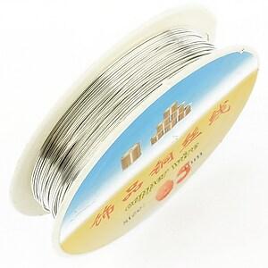 Sarma de modelaj argintie grosime 0,5mm, rola de aproximativ 9,5m