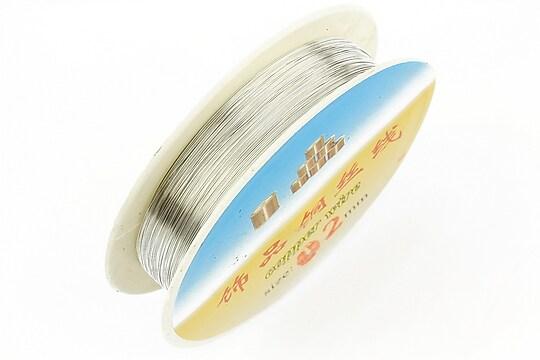 Sarma de modelaj argintie grosime 0,2mm, rola de aproximativ 40m