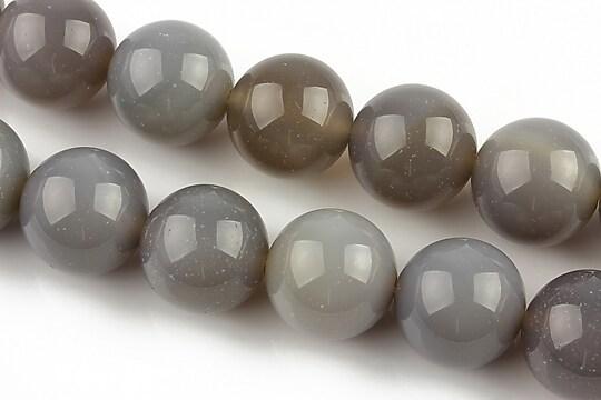 Agate gri sfere 14mm
