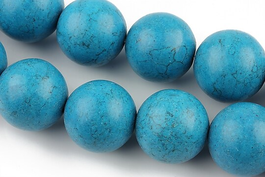 Howlit albastru, sfere 18mm