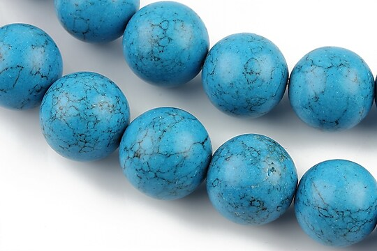 Howlit albastru, sfere 16mm