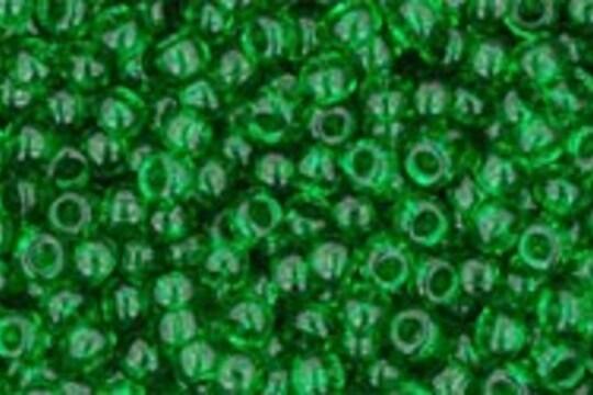 Margele Toho rotunde 11/0 - Transparent Grass Green