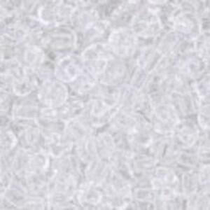 Margele Toho rotunde 11/0 - Transparent Crystal