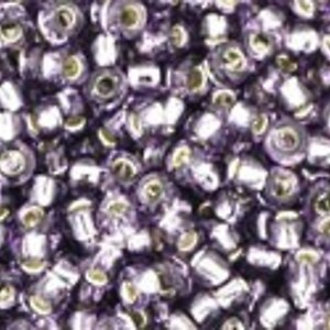Margele Toho rotunde 11/0 - Silver Lined Tanzanite