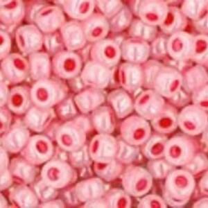 Margele Toho rotunde 11/0 - Ceylon Impatiens Pink