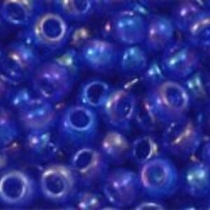 Margele Toho rotunde 8/0 - Trans-Rainbow Saphire