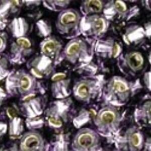 Margele Toho rotunde 8/0 - Silver-Lined Tanzanite