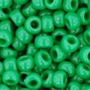 Margele Toho rotunde 8/0 - Opaque Shamrock