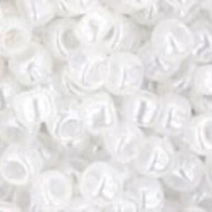 Margele Toho rotunde 8/0 - Ceylon Snowflake