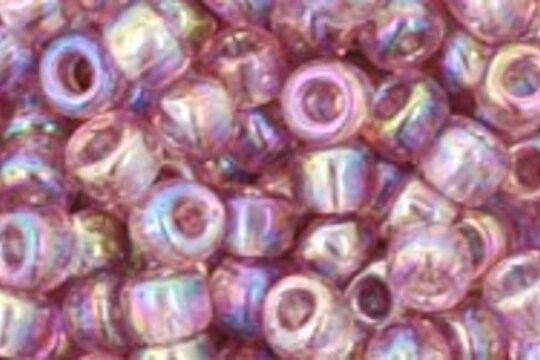 Margele Toho rotunde 6/0 - Trans-Rainbow Lt Amethyst