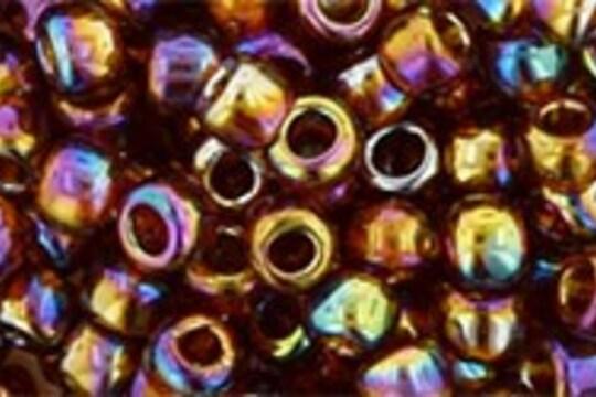 Margele Toho rotunde 6/0 - Trans-Rainbow Smoky Topaz