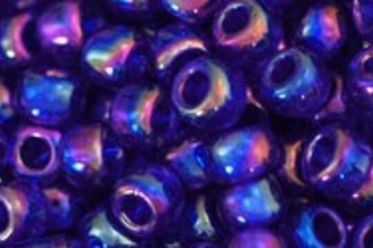 Margele Toho rotunde 6/0 - Trans-Rainbow Cobalt