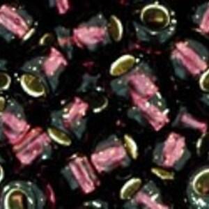 Margele Toho rotunde 6/0 - Silver-Lined Amethyst