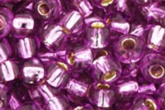 Margele Toho rotunde 6/0 - Silver-Lined Lt Grape