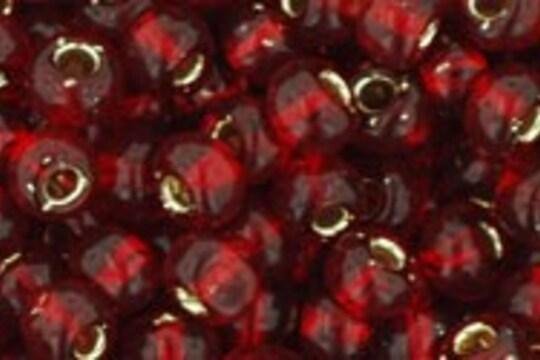 Margele Toho rotunde 6/0 - Silver-Lined Garnet