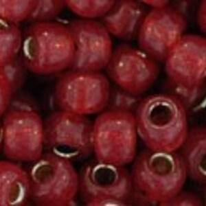 Margele Toho rotunde 6/0 - Silver-Lined Milky Pomegranate