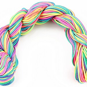 Ata nylon, grosime 1mm, 28m, multicolor