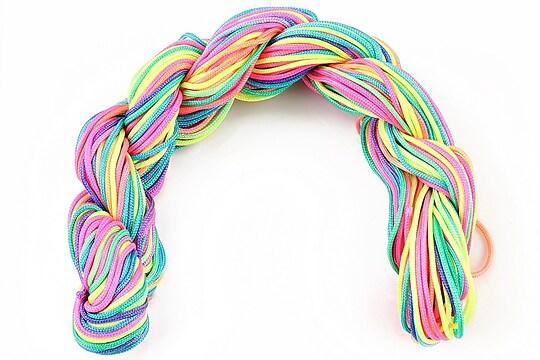 Ata nylon, grosime 1mm, 28m, multicolor