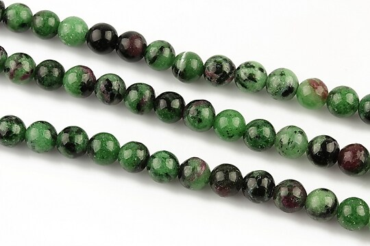 Ruby zoisite sfere 6mm
