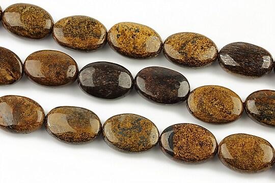 Bronzite oval 14x10mm