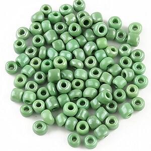 Margele de nisip 4mm (50g) - cod 286 - verde