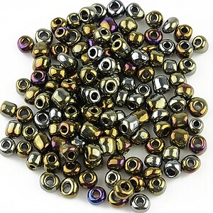 Margele de nisip 4mm (50g) - cod 291 - multicolor