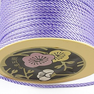Snur nylon impletit grosime 2mm (1m) - mov