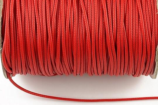 Snur cerat grosime 1,5mm, rosu zmeuriu (1m)
