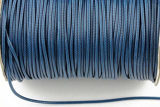 Snur cerat grosime 1,5mm, albastru inchis (1m)