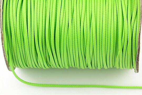 Snur cerat grosime 1,5mm, verde neon (1m)
