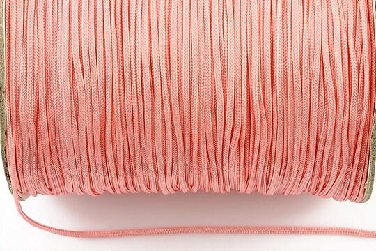 Snur nylon grosime 1,5mm (1m) - roz pal