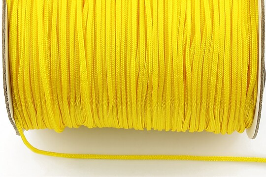 Snur nylon Taiwan grosime 1,5mm (1m) - galben