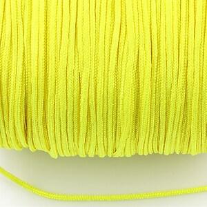 Snur nylon Taiwan grosime 1,5mm (1m) - verde neon 2