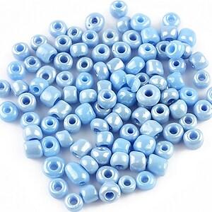 Margele de nisip 4mm (50g) - cod 321 - albastru deschis