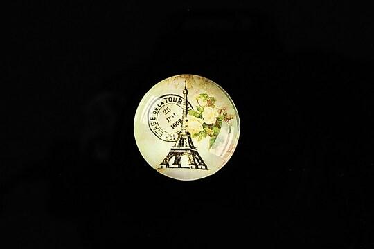 Cabochon sticla 20mm C'est Paris cod 561