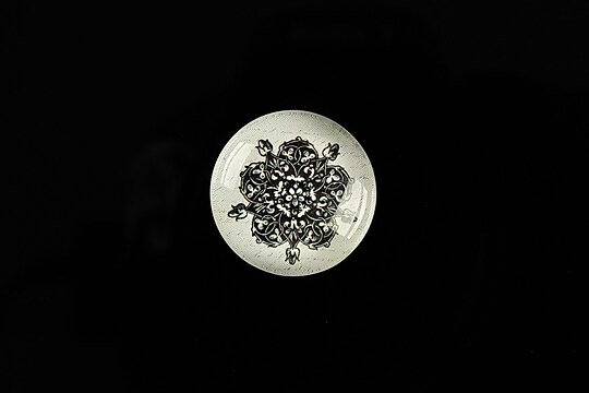 "Cabochon sticla 20mm ""Background"" cod 563"