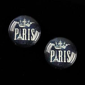 Cabochon sticla 18mm C'est Paris cod 542
