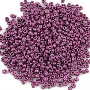Margele de nisip 2mm (50g) - cod 344 - violet