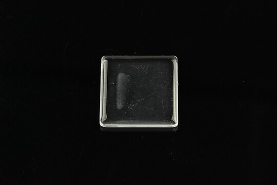 Cabochon patrat de sticla transparenta pentru fundal personalizat 20mm