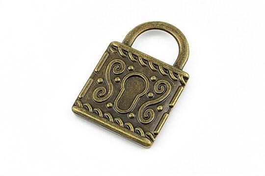 Baza cabochon bronz lacat 35x23mm (interior 20x20mm)