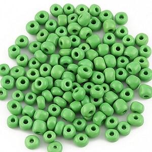 Margele de nisip opace 4mm (50g) - cod 110 - verde