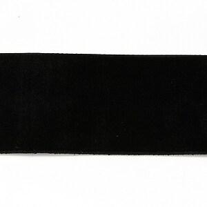 Panglica catifea neagra, latime 3,8cm (50cm)