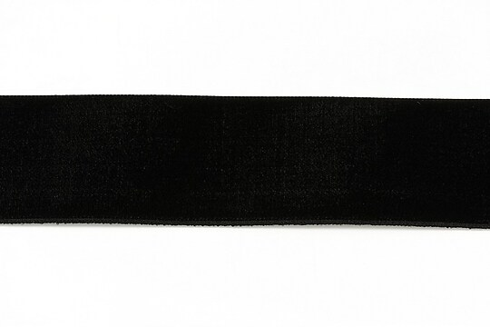 Panglica catifea neagra, latime 3,2cm (50cm)