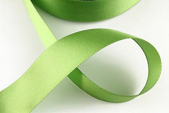 Panglica saten latime 2,5cm (1m) - verde