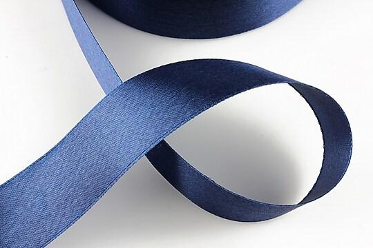 Panglica saten latime 2,5cm (1m) - bleumarin