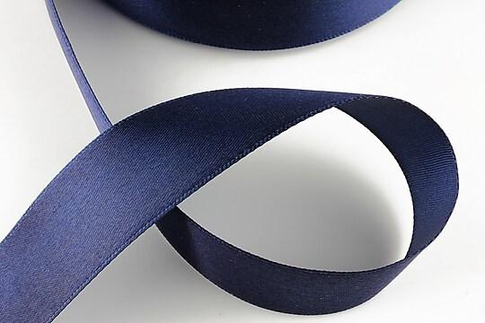 Panglica saten latime 2,5cm (1m) - albastru cobalt