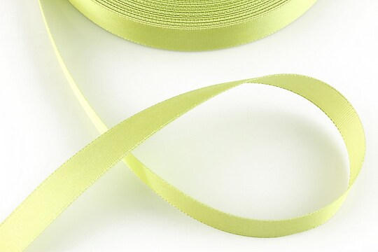 Panglica saten latime 1,4cm (1m) - verde fistic