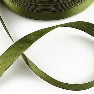 Panglica saten latime 1,4cm (1m) - verde masliniu